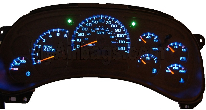 2003 Chevrolet Silverado Instrument Cer Malfunctioning 29 Complaints Chevy Not Working