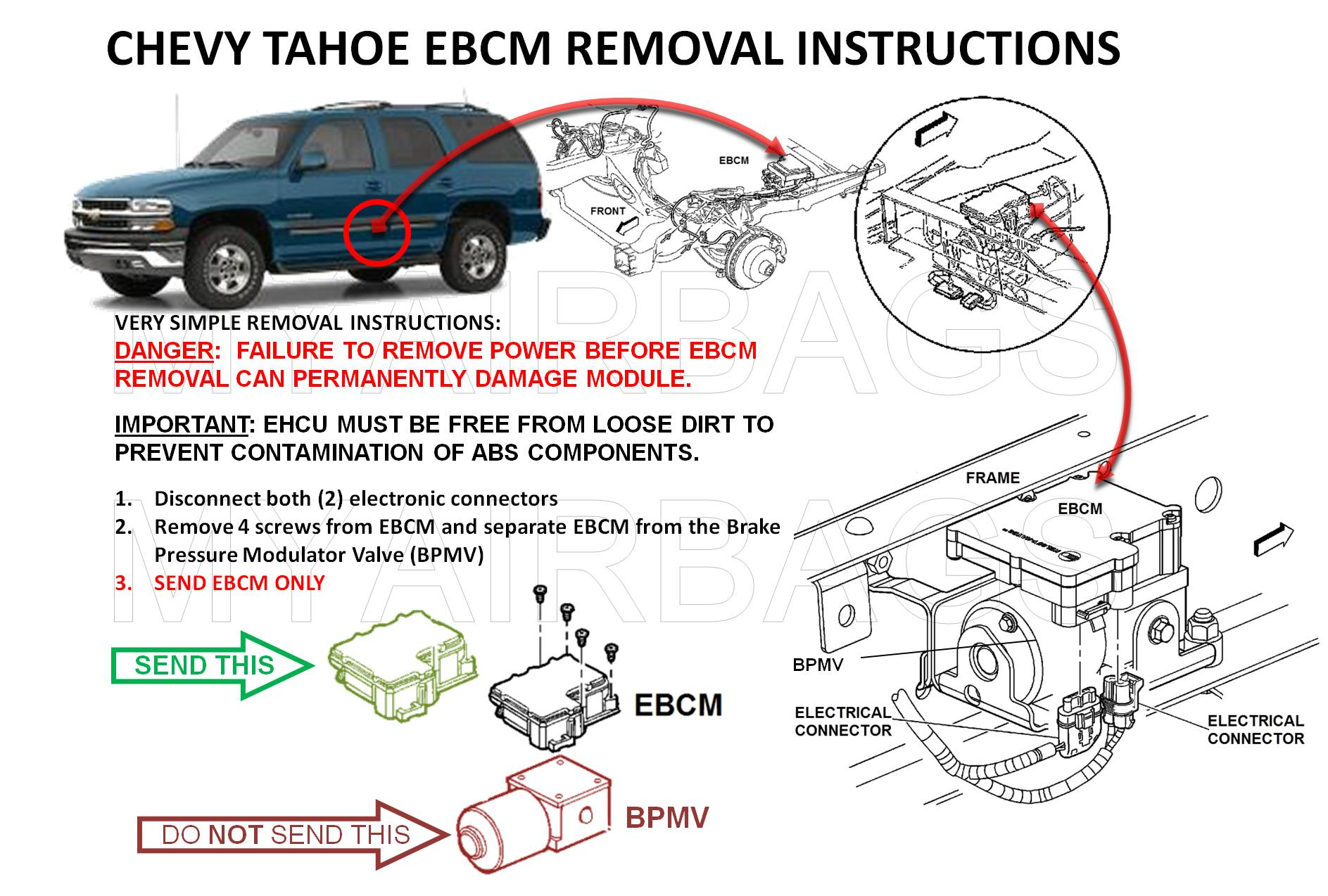 Abs kh select vehicle on 2001 yukon ebcm diagram