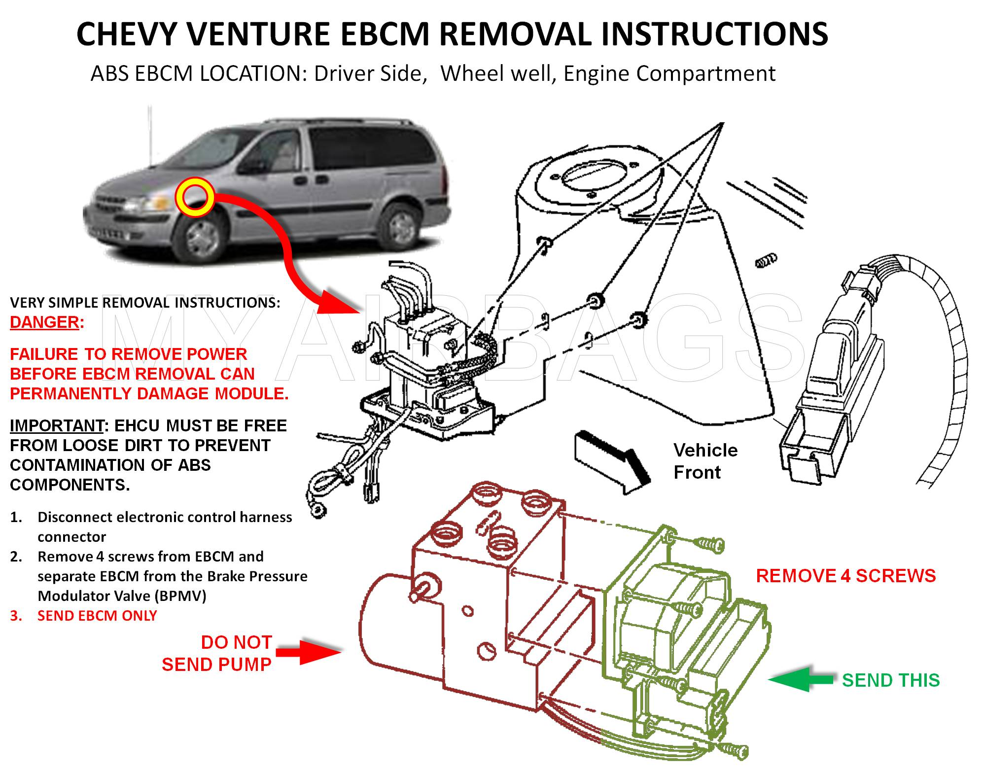 2003 Chevy Venture Fuse Box Diagram