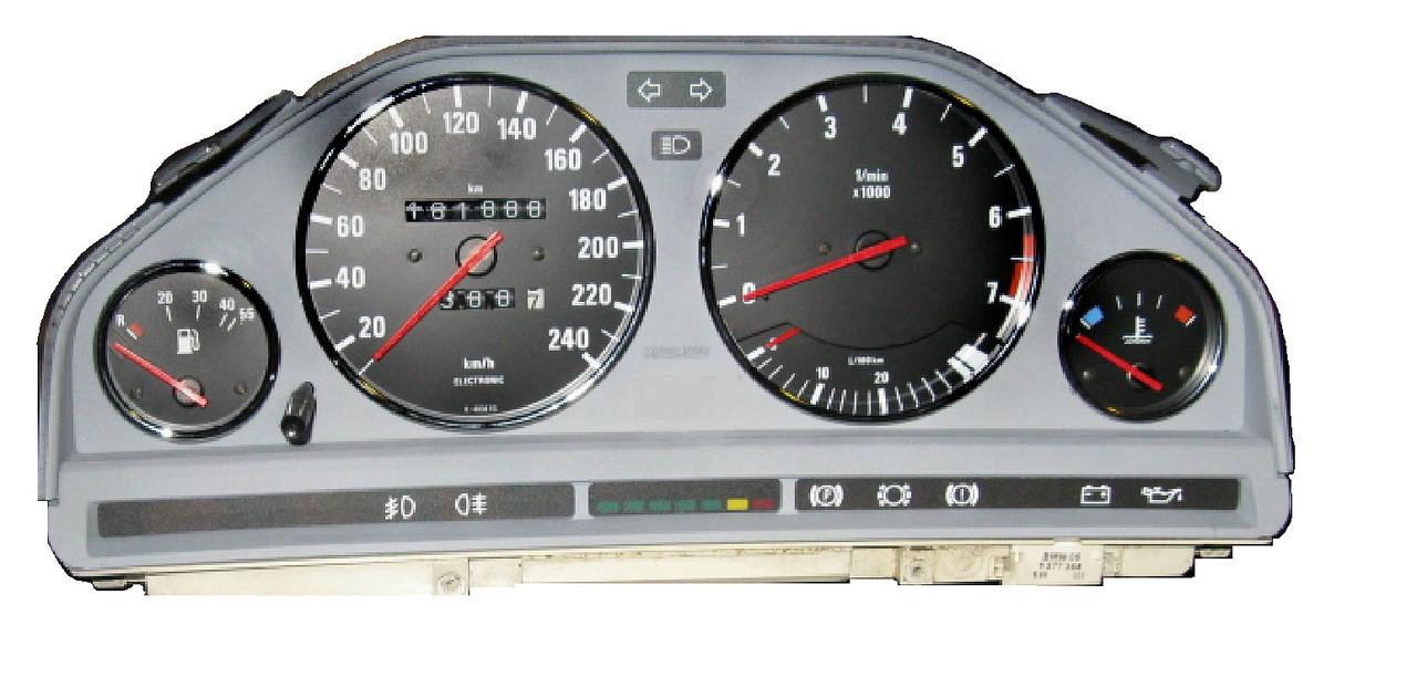 BMW 3 series (1984-1991) Instrument Cluster Rebuild