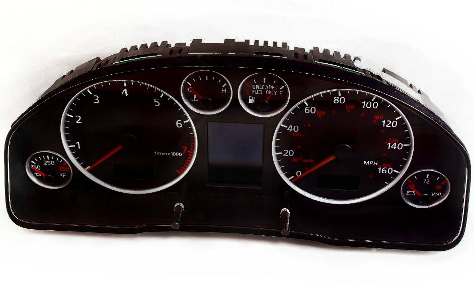Audi S4 S6 1998 – 2004 ICP Instrument Cluster Repair – Odometer Mileage LCD Pixel Screen Dead