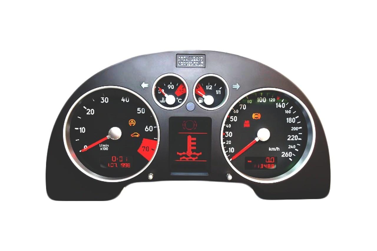 Audi TT 2000 – 2006 ICP Instrument Cluster Repair – Odometer Mileage LCD Pixel Screen Dead