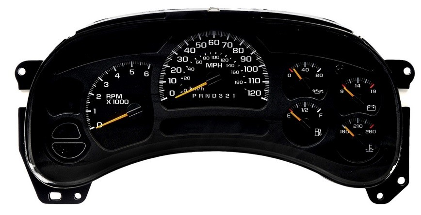 GMC Yukon 2003 – 2006 ICP Instrument Cluster Repair Gauges, Lights, PRNDL Display Screen Not Working