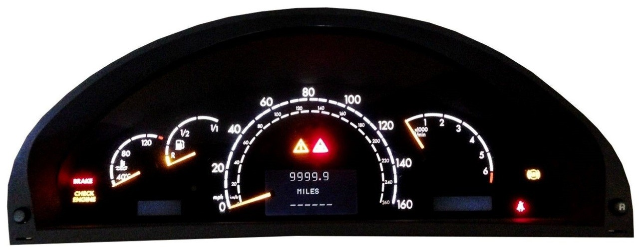 Myairbags provides mercedes benz s class cl 2000 2006 for Mercedes benz cluster repair