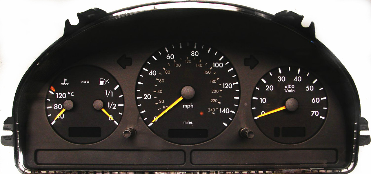 Myairbags provides mercedes ml350 ml500 1997 2005 for Mercedes benz cluster repair
