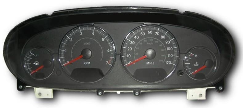 2002 chrysler sebring dashboard