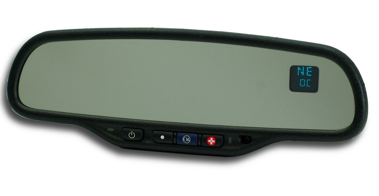 Chevy GMC Rear View Mirror Compass Temperature info screen dead