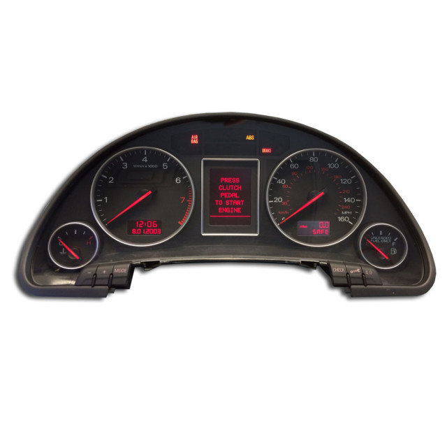 Audi ICP Instrument Cluster Repair – Odometer Mileage LCD Pixel Screen Dead