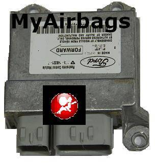 Ford F150 2000 2001 2002 RCM SRS Airbag Restraint Control Module