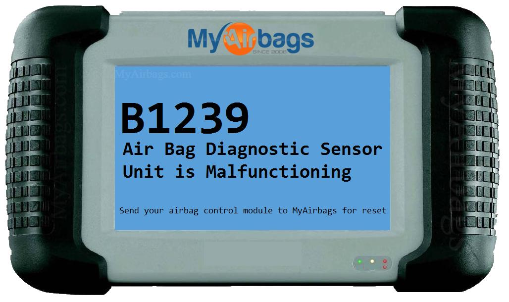 Myairbags Error Code B1239