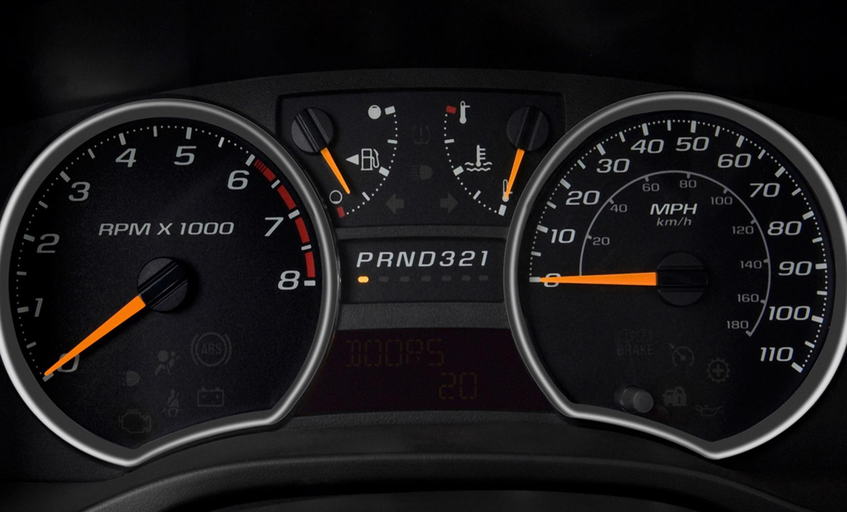 Chevy Colorado Speedometer Instrument Cluster Not Working Gas Fuel Speed Temp Gauges Do Not Work Sku