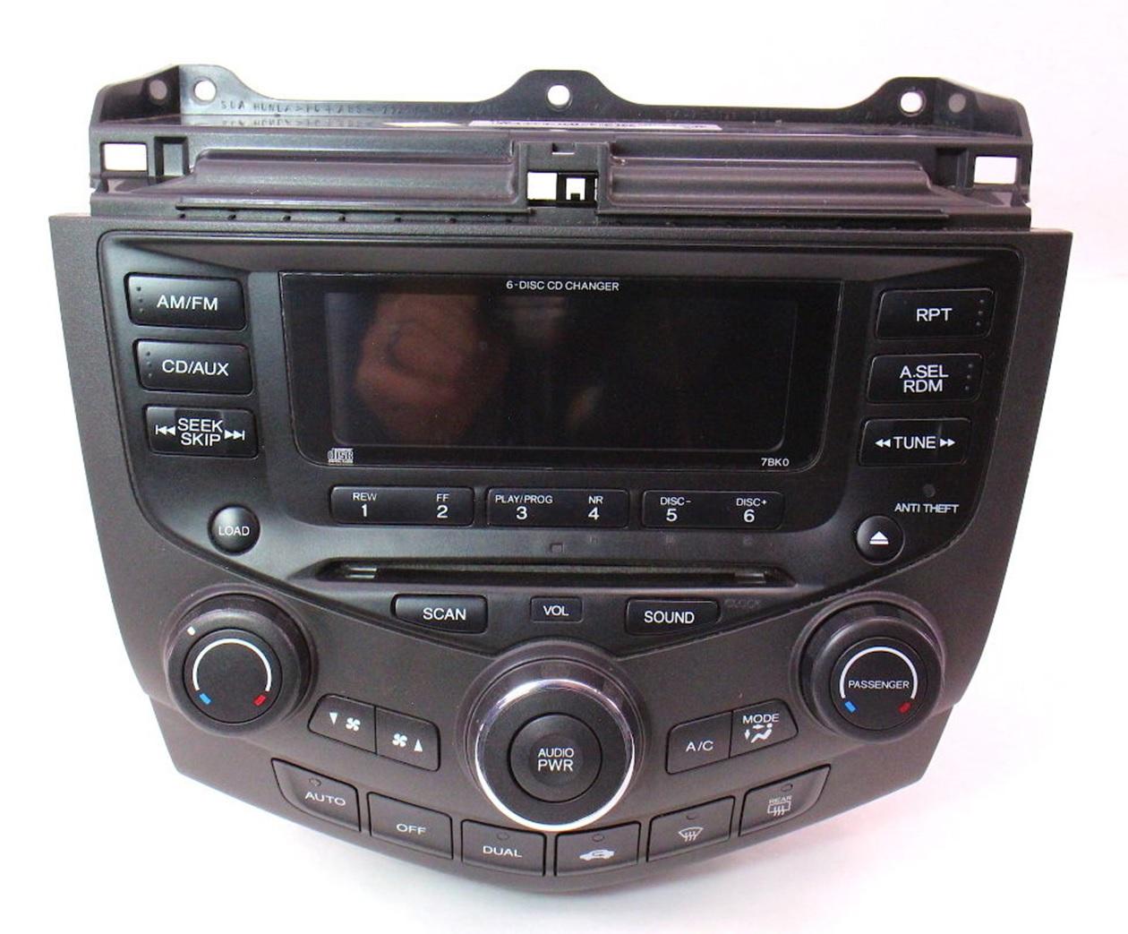 Honda-Accord-2003-2004-Radio-Climate-Control-Dead-Dim-Repair-SKU-6716