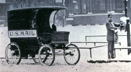 First Mail Truck USPS | MyAirbags