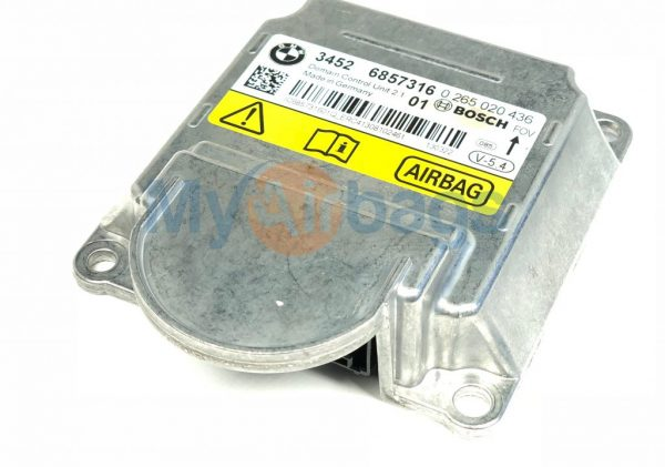 BMW SRS Airbag Control Module Sensor Part #34526857316