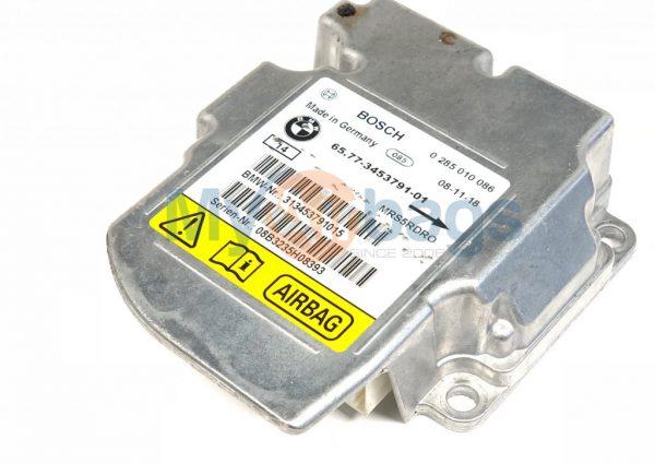 BMW X3 SRS Airbag Control Module Sensor Part #6577345379101