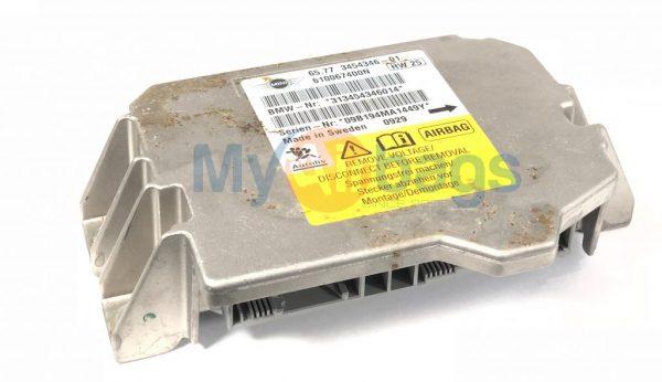MINI COOPER SRS Airbag Control Module Sensor Part #6577345434601