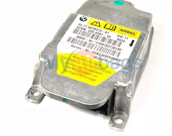 BMW SRS Airbag Control Module Sensor Part #65776978373