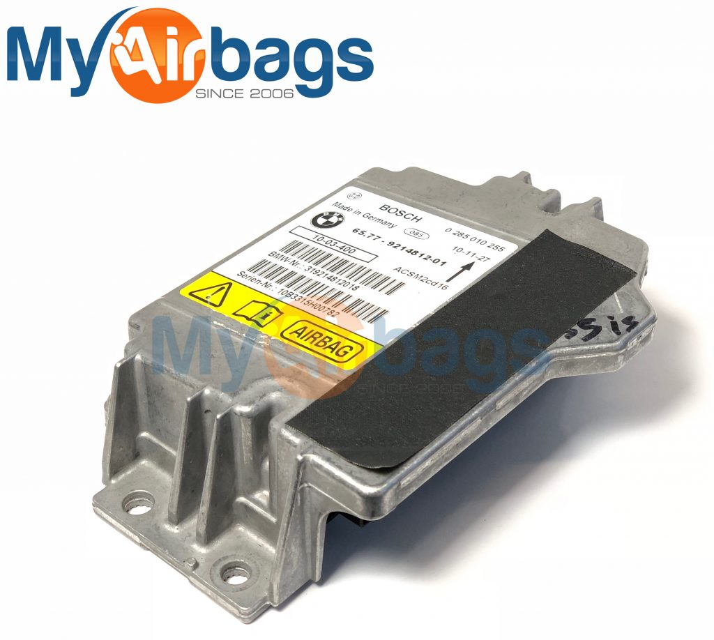 BMW 325I SRS Airbag Control Module Sensor Part #6577921481201