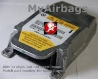 BMW SRS 5-Series SRS Airbag Restraint Control Module