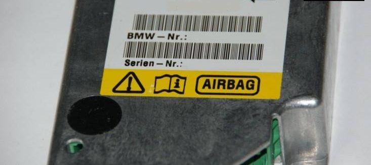 BMW SRS Airbag Restraint Control Module