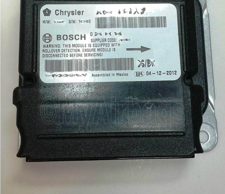 DODGE CHARGER – SRS Airbag Control Module Sensor Part # 56038943AG