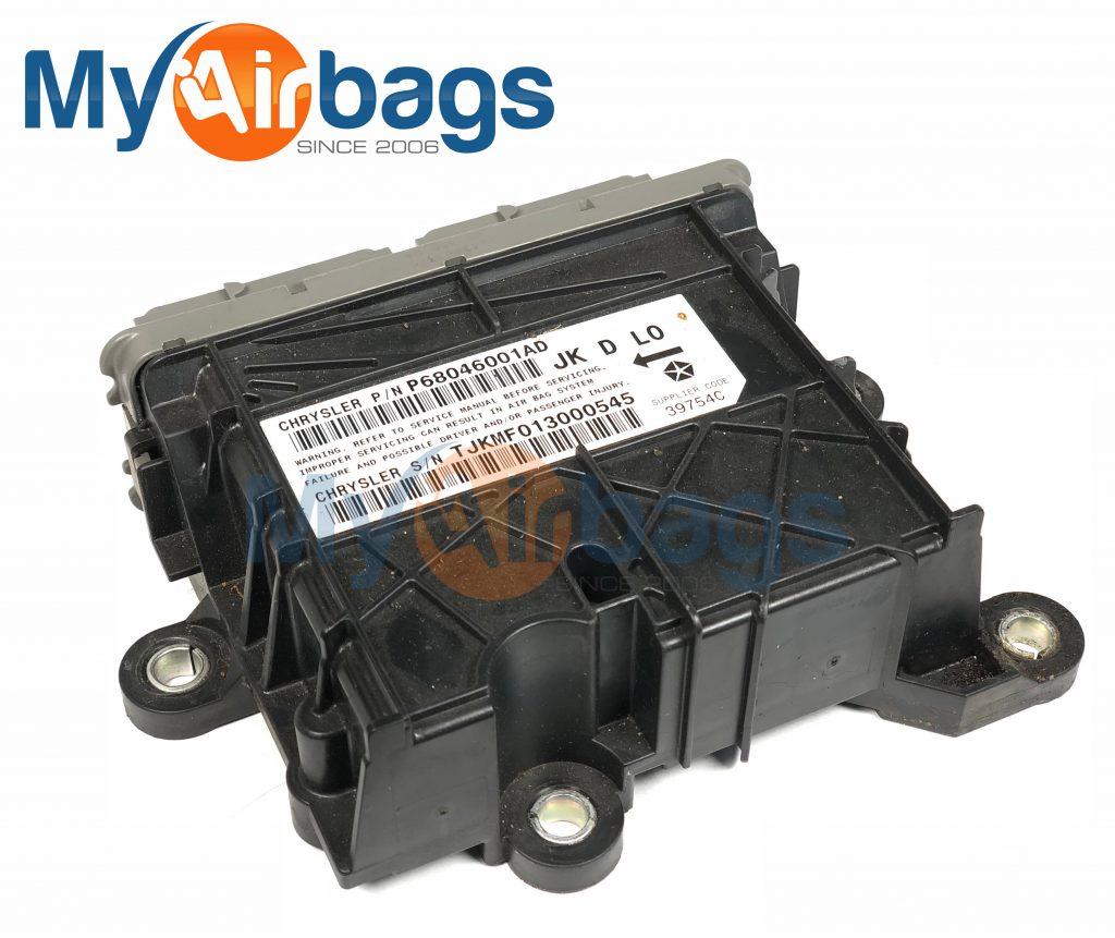 Jeep Wrangler Srs Airbag Orc Occupant Restraint Control Module 2008 Clock Spring Wiring Schematic Chrysler Dodge Mopar Diagnostic