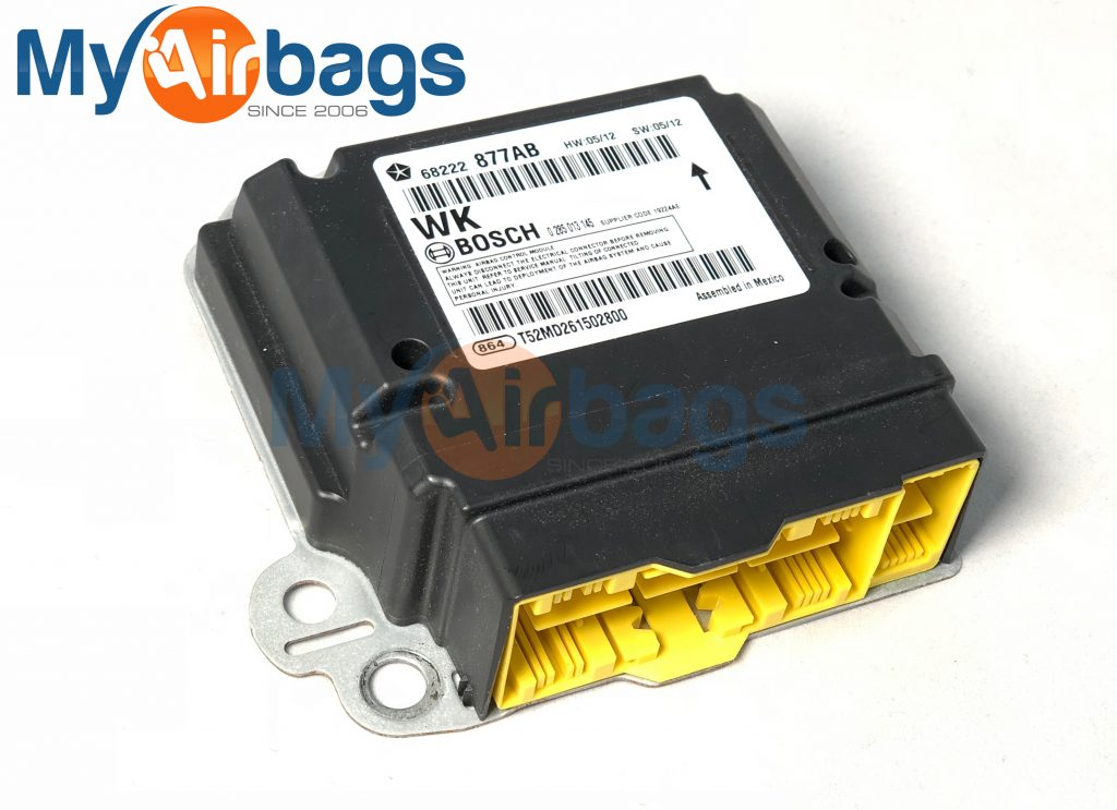 Chrysler Mopar Srs Orc Orm Airbag Computer Diagnostic Occupant Restraint Control Module Part Number Ab Bosch Myairbags on Chrysler Airbag Module Location