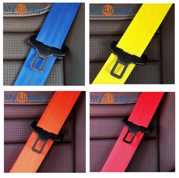 Custom-Colored Seat Belt Replacement - Get A New Seat Belt