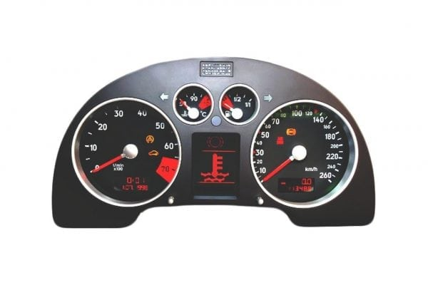 Audi TT 2000, 2001, 2002, 2003, 2004, 2005, 2006 ICP Instrument Cluster Repair - Odometer Mileage LCD Pixel Screen Dead