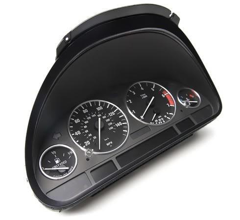 BMW 5-Series, 7-Series ICP Instrument Cluster Repair - Dead Pixels Missing, LCD screen dead