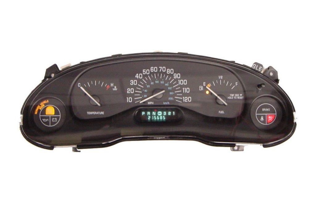 Buick Century 1997, 1998, 1999, 2000 ICP Instrument Cluster Repair