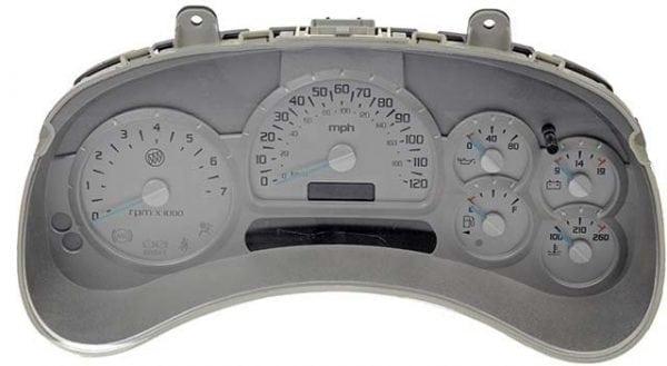 Buick Rainier 2004, 2005, 2006 ICP Instrument Cluster Repair