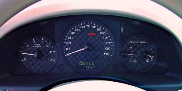 Chevy Chevrolet Malibu 2003, 2004, 2005 ICP Instrument Cluster Repair