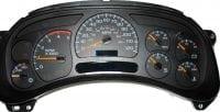 ICP Instrument Cluster Chevy Chevrolet Silverado 1999 - 2002 Lights, Odometer Mileage Screen Dead, PRNDL Display Screen Not Working