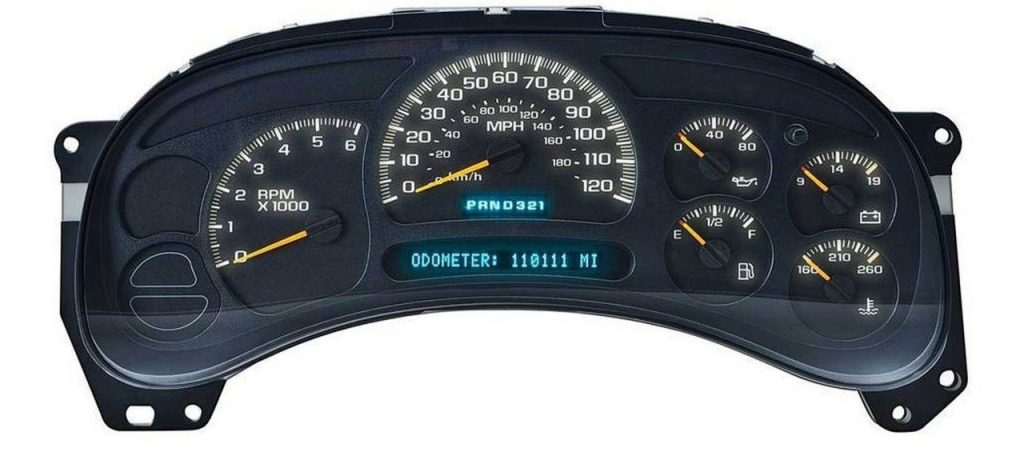 GM Chevy Chevrolet Kodiak 2003, 2004, 2005, 2006 ICP Instrument Cluster Repair Gauges, Lights, PRNDL Display Screen Not Working