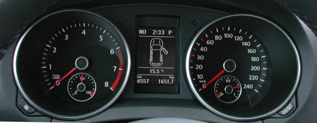 VW Golf R32 2008 2009 ICP Instrument Cluster Repair