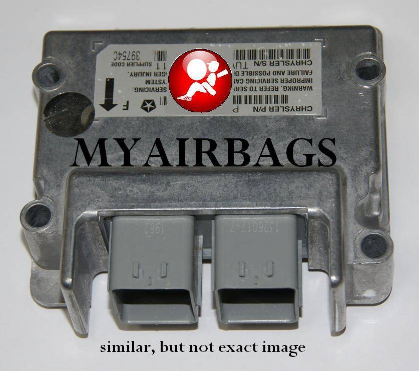 Seat Belt Pretensioner >> JEEP GRAND CHEROKEE - SRS Airbag Control Module Sensor ...
