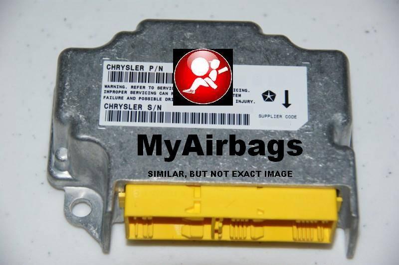 DODGE CALIBER – SRS Airbag Control Module Sensor Part # P04672501AE