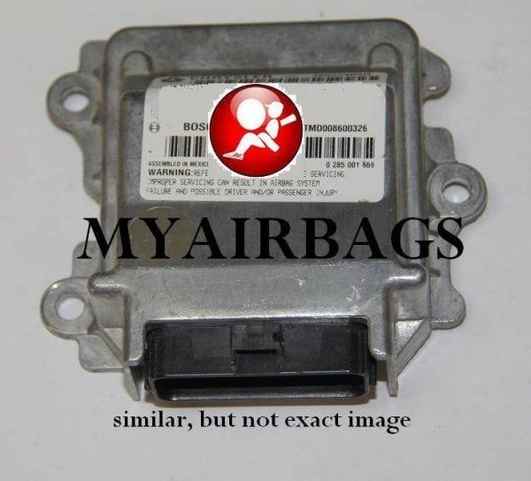 Chrysler Pt Cruiser Srs Airbag Control Module Sensor Part Rhmyairbags: Pt Cruiser Air Bag Control Module Location At Gmaili.net