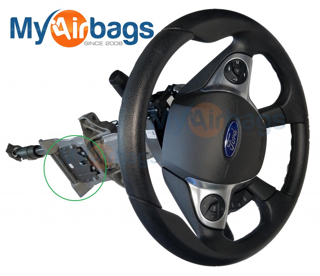 Steering Column Collapsible Sensor Repair Myairbags 2001 Ford Explorer Wheel Wiring Diagram Next