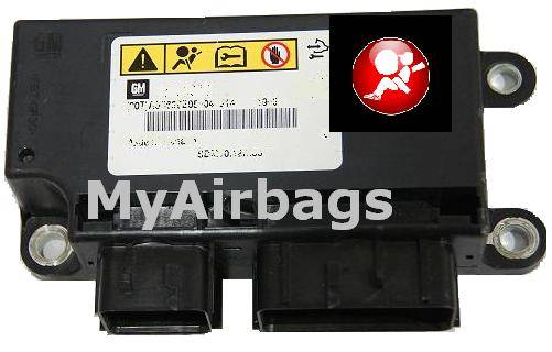 chevrolet silverado tahoe srs airbag control module sensor part rh myairbags com 2006 Silverado Light Wiring Diagram 2000 Chevy Silverado 1500 Truck Wiring Diagrams