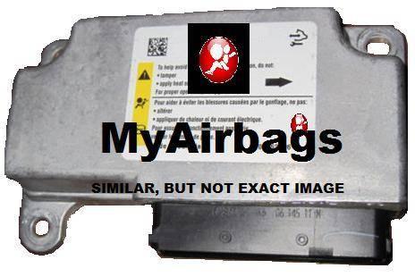 Cadillac Dts Srs Airbag Control Module Sensor Part