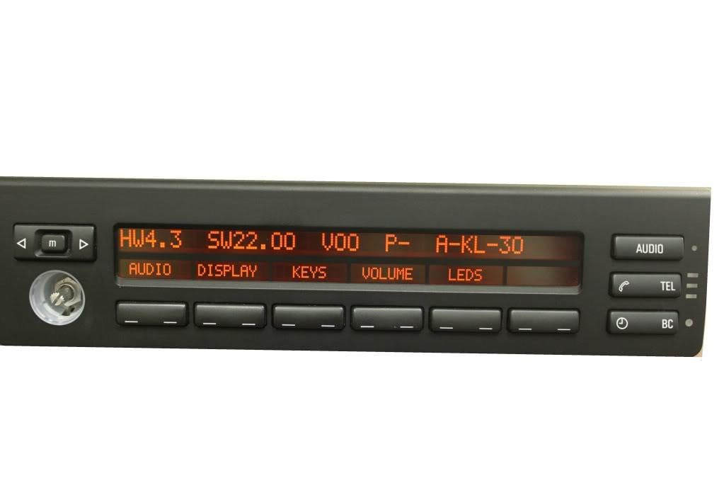 BMW MID Information LCD Display Pixel Repair - dead missing pixels