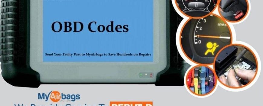 MyAirbags OBD Codes