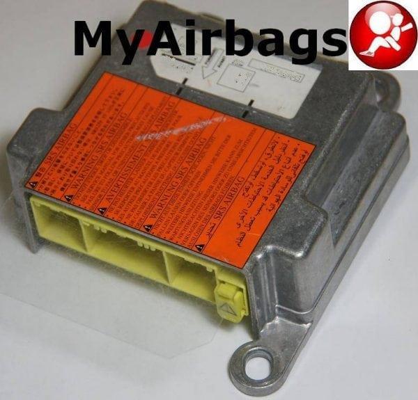 2010 Nissan Rogue Camshaft: SRS Airbag Control Module Sensor Part