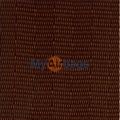 MyAirbags Dark Brown Seat Belt Webbing Replacement