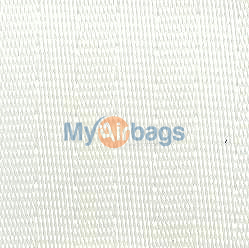 MyAirbags White Seat Belt Webbing Replacement