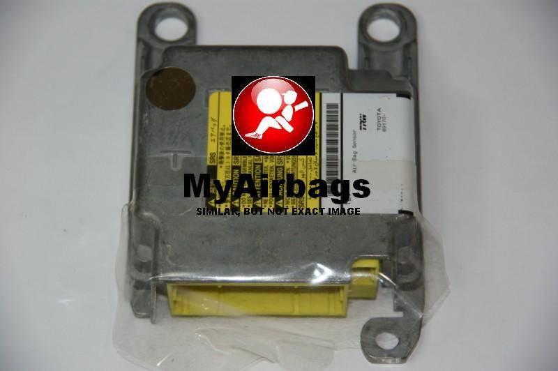 Seat Belt Pretensioner >> TOYOTA AVALON - SRS Airbag Control Module Sensor Part ...