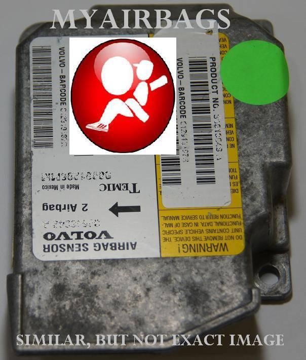VOLVO S40 / V40 / 40 SERIES - SRS Airbag Control Module Sensor Part # 30613049A - MyAirbags