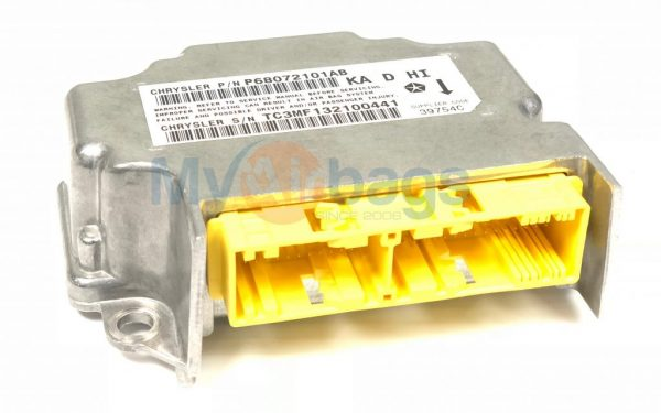 DODGE NITRO SRS Airbag ORC Occupant Restraint Control Module Sensor Part  #P68072101AB